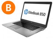 Portatiles segunda mano HP 850 G1 Core i5 a 1.9Ghz 4GBRAM 180SSD
