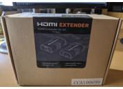 EXTENSOR HDMI LAN
