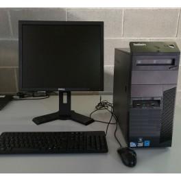 ordenadores segunda mano completos Lenovo M81 Pentium G 2.6Ghz 4GBRAM 250HDD