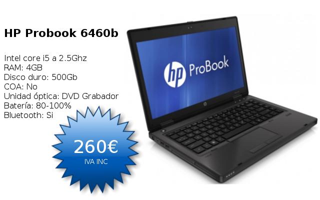 portatiles segunda mano madrid barcelona oferta