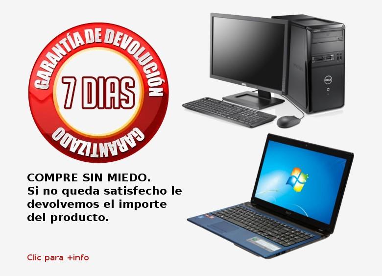 ordenadores segunda mano portatiles segunda mano