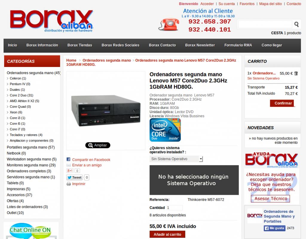 ordenadores segunda mano madrid promocion oferta baratos comunidad madrid san isidro