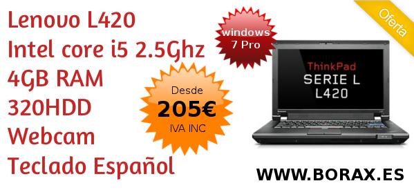 L420 oferta  portatiles segunda mano