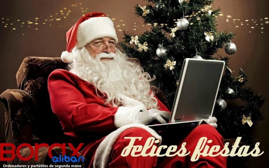 feliz navidad ordenadores segunda mano